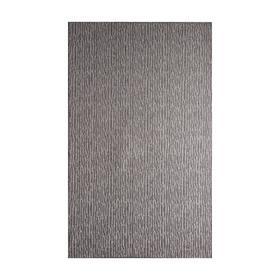 Палас SCROLL RAIN, цвет серебро, 1х2м