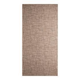 Палас SCROLL SHTRIH 01_019/19_17_11_00 коричневый, 1х2м, ПП 100%