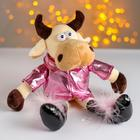 """Soft toy """"the Cow in the pink jacket"""""""