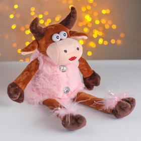 Мягкая игрушка «Коровка в розовой шубке» в Донецке