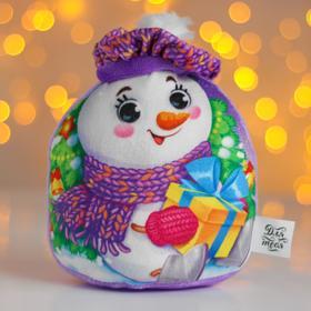 Мягкая игрушка «Новый год», снеговичок
