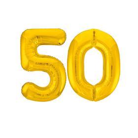 "Balloon foil 40"" ""50"", color: Golden"