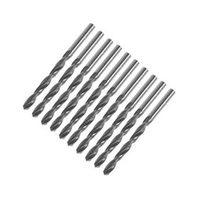 Drill bits for metal TUNDRA, HSS, straight shank, 5.7 mm, 10 PCs