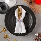 """Кольцо для салфетки """"Merry christmas"""" 20,5х2,5 см, 100% п/э, фетр - фото 493379"""