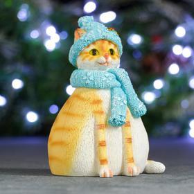 "Копилка ""Кошка Шарлотта"" рыжая, 10х10х14,5см"