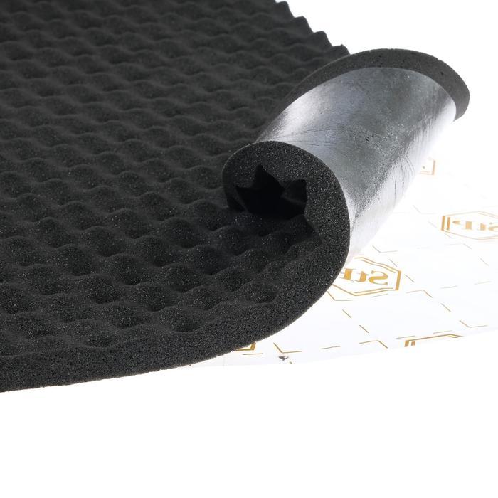 Звукопоглощающий материал StP Biplast Premium 25A, размер: 25х750х1000 мм
