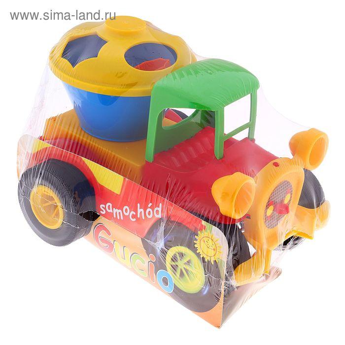 Автомобиль логический, цвета МИКС