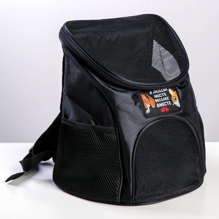 Рюкзак для переноски животных 31*23*30 см - быстрая доставка