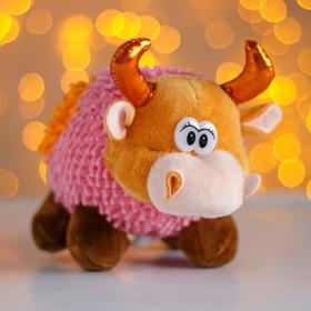 Soft toy Bull MIX color