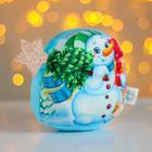 Мягкая игрушка «Новый год», снеговик - фото 105615219
