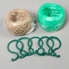 Garden: the Twine of PP or jute 30 m,10m cable, Bica, 5 PCs, index, 1 PCs