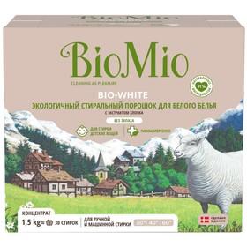 Стиральный порошок для  белого белья BioMio BIO-WHITE, 1500 гр