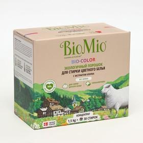 Стиральный порошок для цветного белья BioMio BIO-COLOR, 1500гр