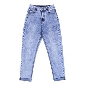 Брюки джинсовые для девочек Mom, рост 152 см