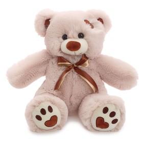 Мягкая игрушка «Медведь Тони» латте, 50 см