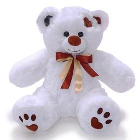 Мягкая игрушка «Медведь Тони» белый, 50 см