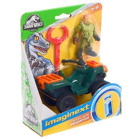 Игровой базовый набор Imaginext Jurassic World, фигурка + техника МИКС