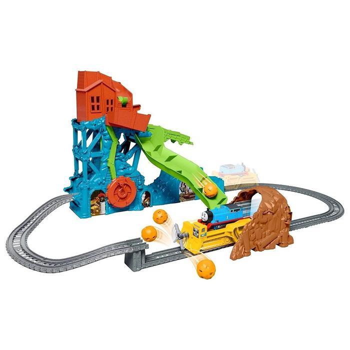 Набор игровой «Моторизованные паровозики. Обвал в пещере»