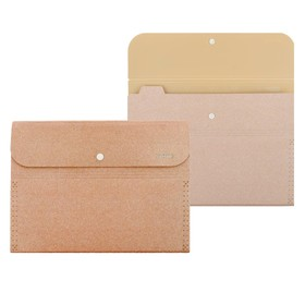 """Папка-конверт (картотека) на кнопке 6 отделений, deVENTE """"Glitter Shine"""" A4 (320x230 мм), 400 мкм, фактура """"песок"""" с блестками, сверкающий розовый"""