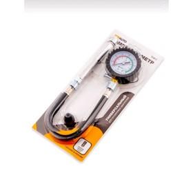 Компрессометр Топ Авто 'Универсальный бензиновый', 11411, манометр в резиновом чехле Ош