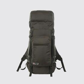 Рюкзак туристический, 70 л, отдел на шнурке, наружный карман, 2 боковые сетки, цвет олива