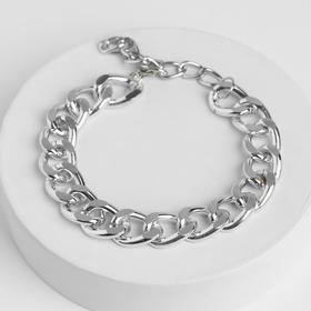 "Anklet ""Big chain"" color silver"