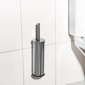 """Ruff for toilet wall """"Practices"""", stainless steel"""