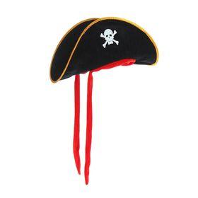 Шляпа «Пират», текстиль, р. 60