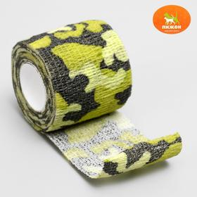 "The bandage is self adhesive explosive ""Camouflage"", 5 cm x 4,5 m, mixed"