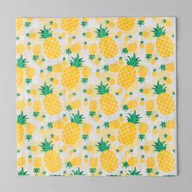 "Napkins ""Pineapples"" 33х33 cm, 20 PCs"