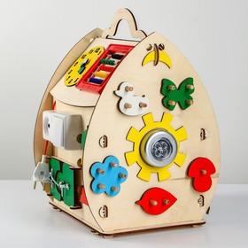 Развивающая игрушка Бизиборд «Солнечный домик»