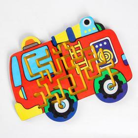 Лабиринт средний «Пожарная машина»