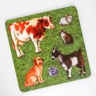 Рамка-вкладыш «Домашние животные. Корова»
