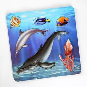 Рамка-вкладыш «Морские обитатели. Кит»