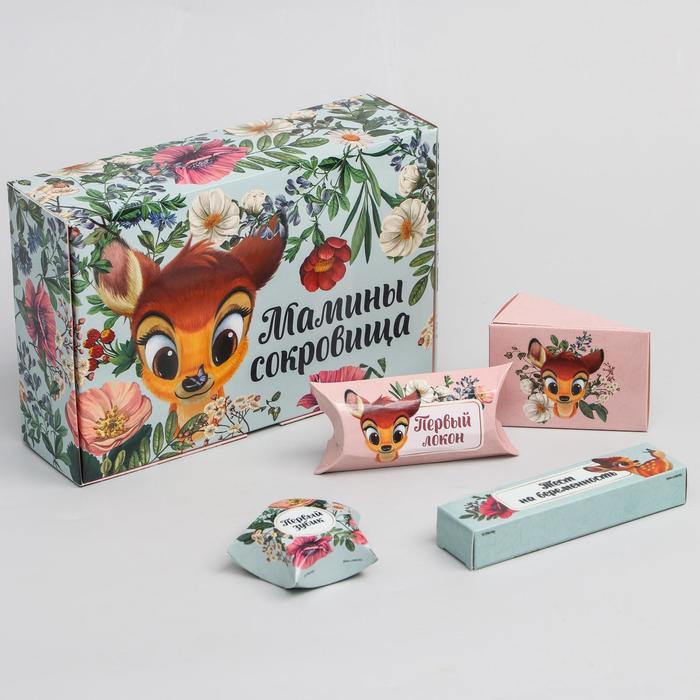 """Набор коробок для хранения """"Мамины сокровища"""", Disney"""