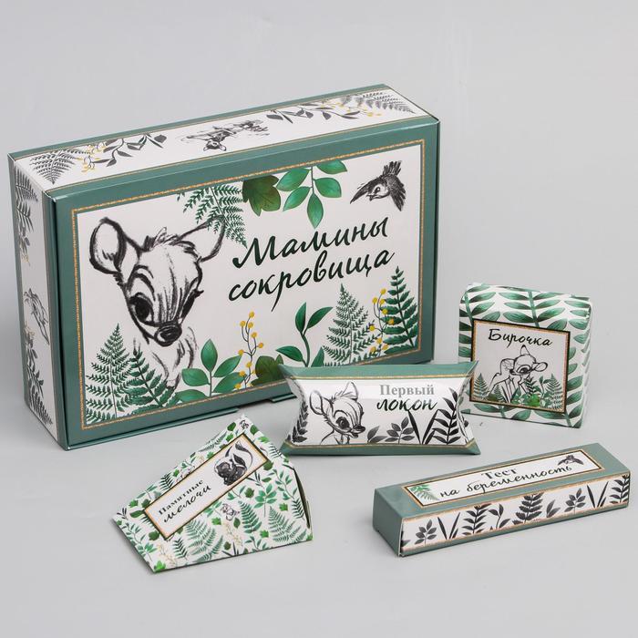 """Набор коробок для хранения """"Мамины сокровища"""", Disney - фото 493605"""