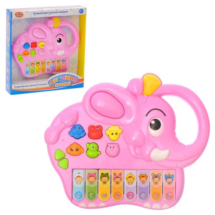 Музыкальная игрушка «Пианино знаний: Слонёнок», звуковые эффекты