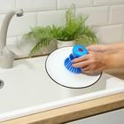 Щетка с дозатором для моющего средства, цвета МИКС