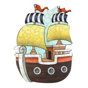 Супер пазл «Кораблик»