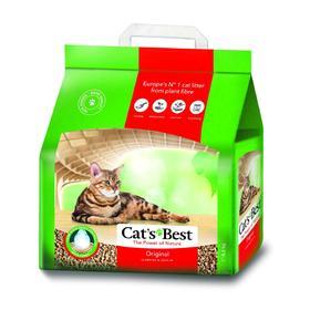 Наполнитель древесный комкующийся Cat's Best Original, 10 л, 4,3 кг Ош