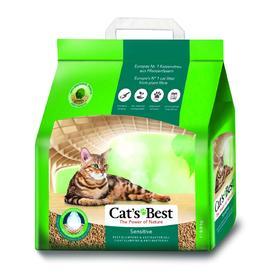 Наполнитель древесный комкующийся Cat's Best Sensitive, 8 л, 2,9 кг Ош