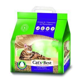 Наполнитель древесный комкующийся Cat's Best Smart Pellets, 10 л, 5 кг