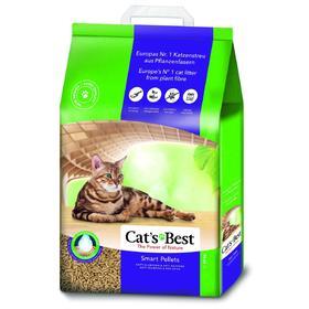 Наполнитель древесный комкующийся Cat's Best Smart Pellets, 20 л, 10 кг