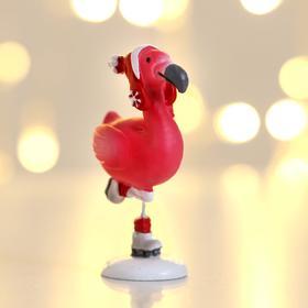 Фигурка «Фламинго на коньках»