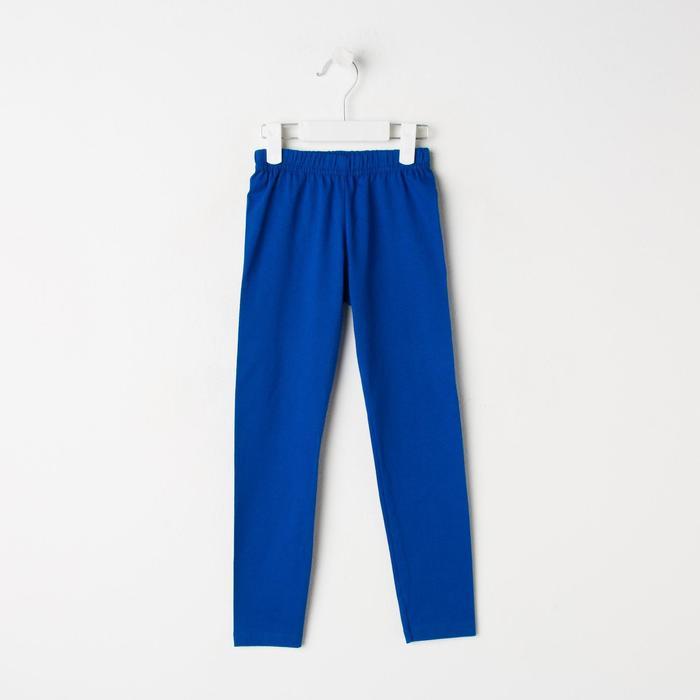 Брюки для девочки, цвет синий, рост 92 см - фото 1964206