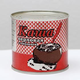 Каша перловая с говядиной ГОСТ, 250 г