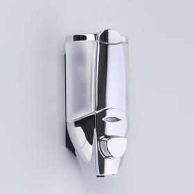 Soap dispenser automatic, 350 ml, plastic, color chrome