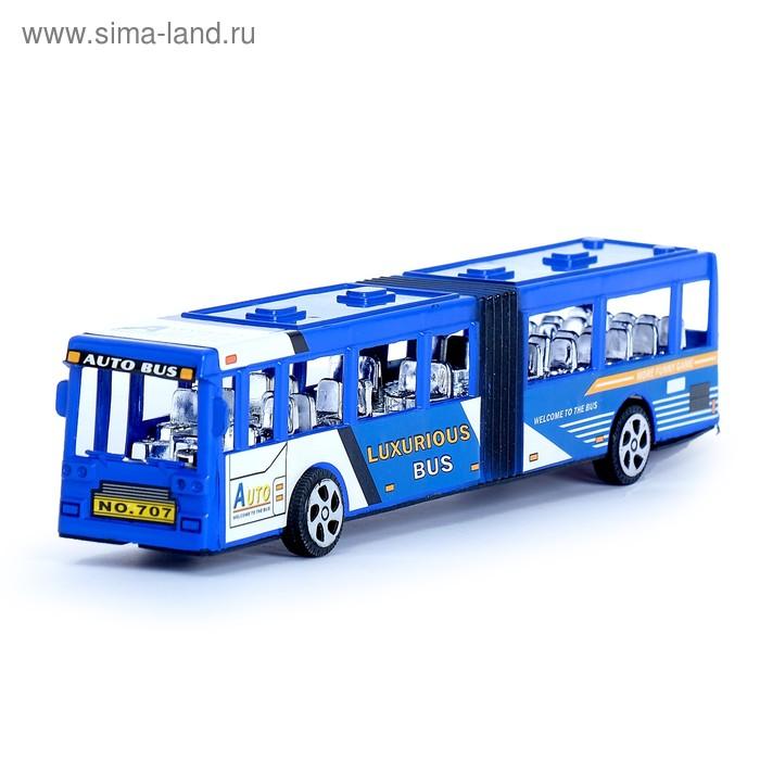 """Автобус инерционный """"Городской"""", цвета МИКС"""