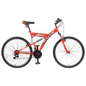 """Велосипед 26"""" Bravo Rock, 2020, цвет красный/черный/белый, размер 20''"""