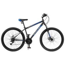"""Велосипед 27.5"""" Black One Onix D, цвет чёрный/синий/серый, размер 18"""""""
